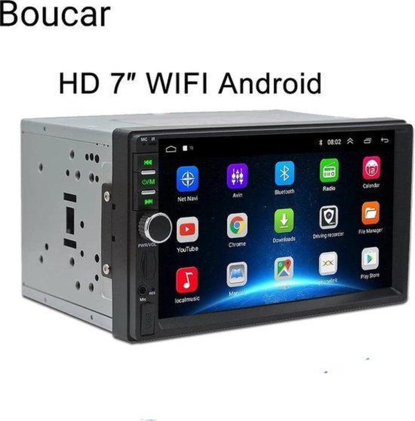 2 din android 2/32 gb navigatie,playstore , handfree bellen, bluetooth , met gratis achteruitrij camera