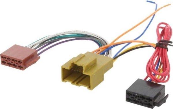 Opel Astra | Insigna | Corsa | ISO kabel | verloopstekker voor autoradio