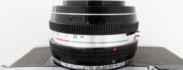 minolta Uniomat 2 lense barrel cropped