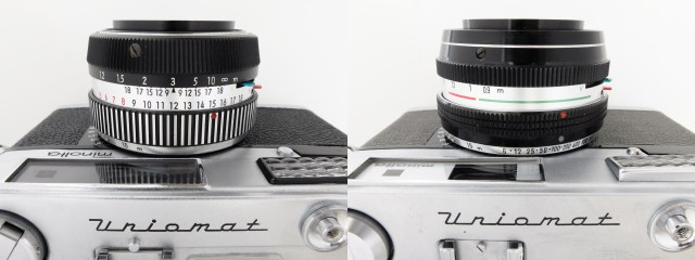 minolta Uniomat_2 lense barrel