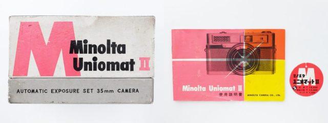 minolta Uniomat 2 Box_Maunal
