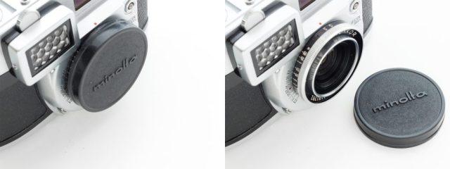 minolta auto wide Lens CAP