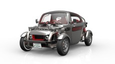Toyota Kikai front three quarters