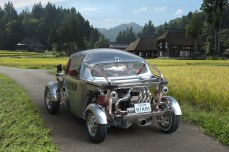 Toyota Kikai rear three quarters road