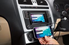 Volkswagen Ameo infotainment system