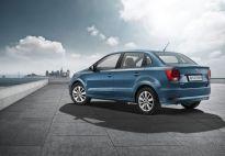 Volkswagen Ameo rear three quarters