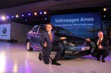 Volkswagen Ameo unveil 2