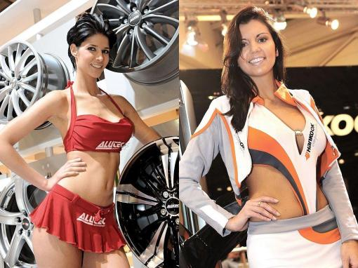 Beauty Babes At The 2009 ESSEN Motor Show Photos Its