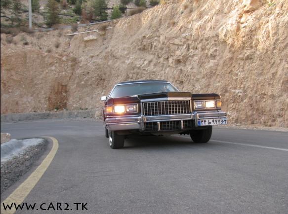 تست رانندگی و عکس کادیلاک فرح پهلوی