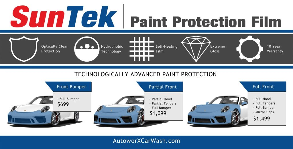 SunTek Paint Protection Film Myrtle Beach SC Installers AutoworX