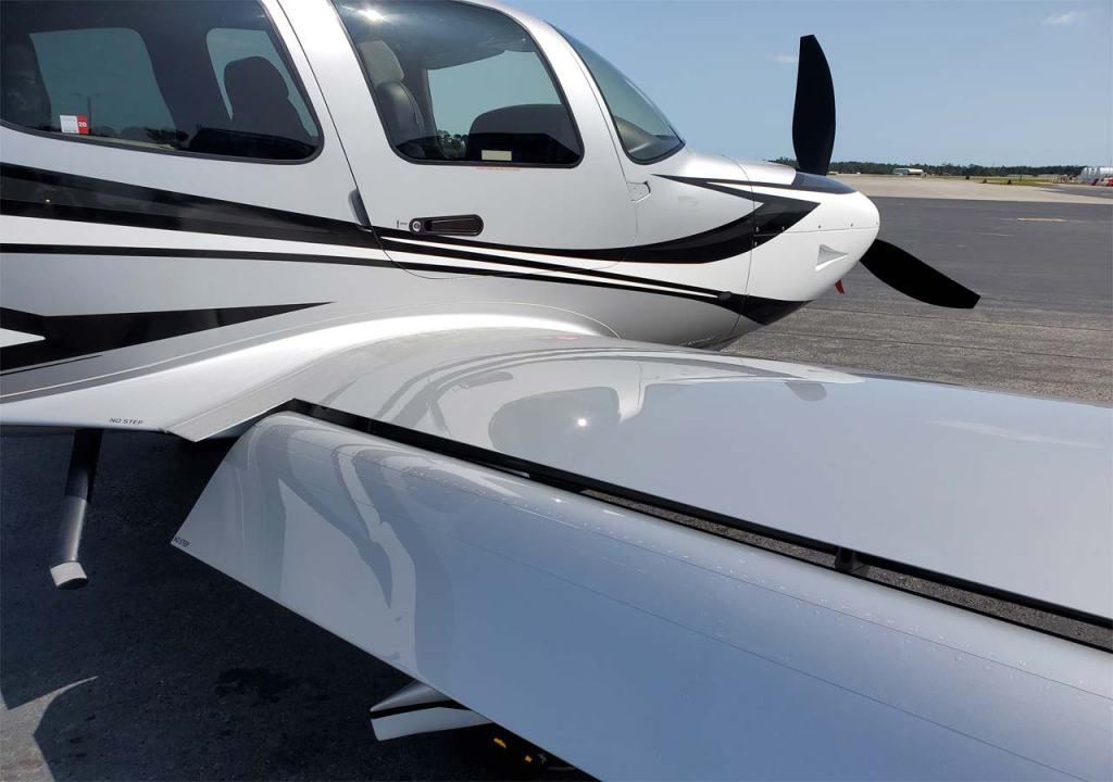 Aircraft Detailing Wilmington NC AutoworX Professional Aircraft Detailing