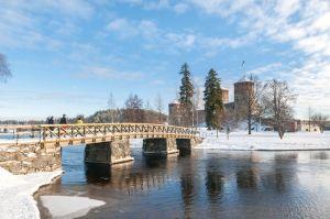 Savonlinna talvella