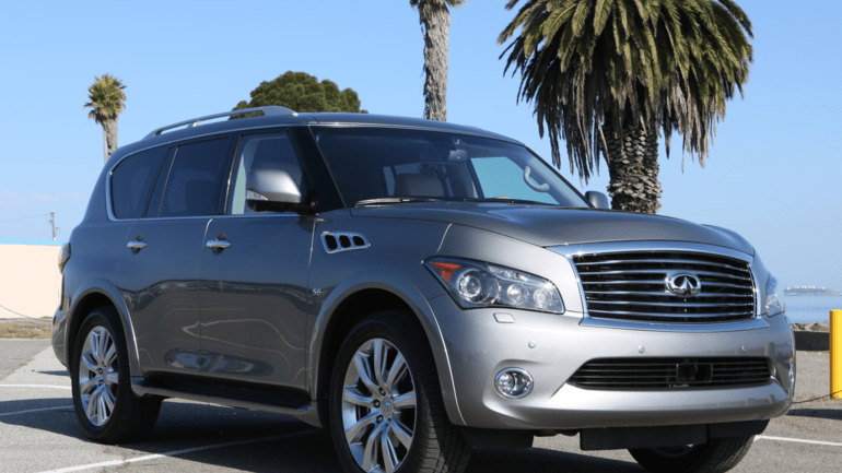 Best Cars For Baby Boomers - Infiniti QX80