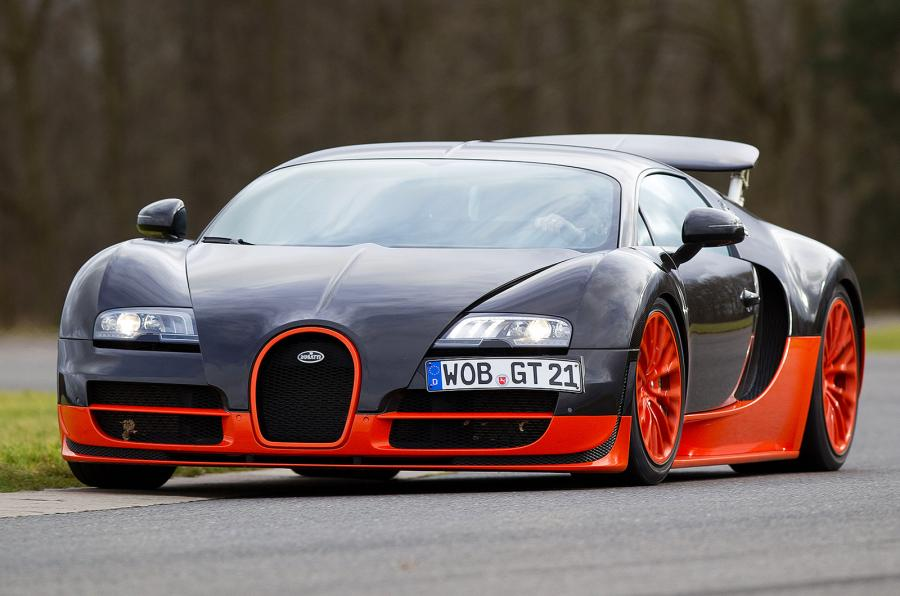 Bugatti Veyron - The most expensive cars in the world