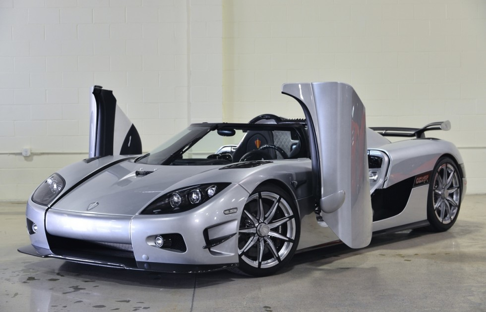 Koenigsegg CCXR Trevita - The most expensive cars in the world
