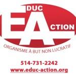 Logo et coordonnées Éduc-Action