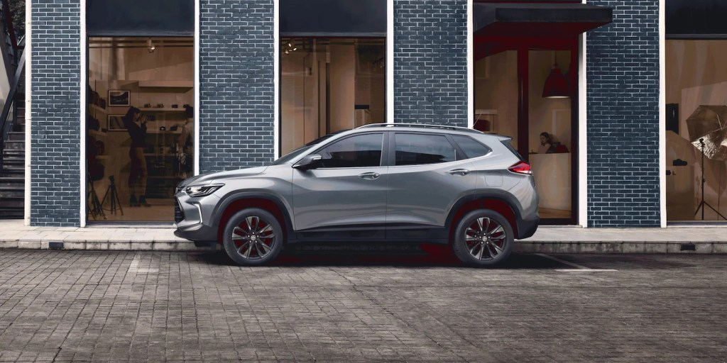 Chevrolet tracker 2021 lateral