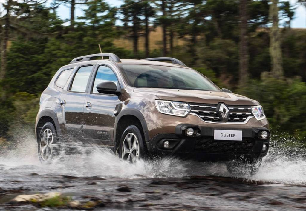 Renault Duster frontal