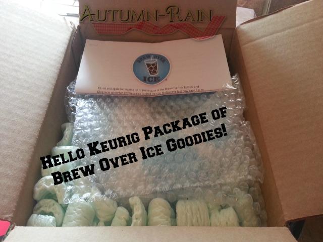 Keurig Brew Over Ice Goodies Review & Giveaway!#LoveBrewOverIce
