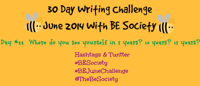 June Writing Challenge Day 22- The Future @TheBeSociety #besociety #thebesociety