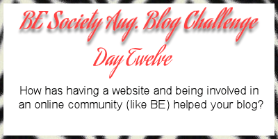 12/31 August Blog Writing Challenge with @theBEsociety-Blogging Groups #besociety #beaugchallenge