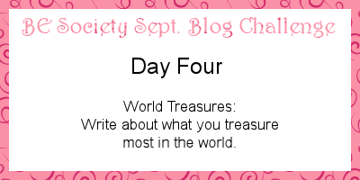 4/31 @thebesociety September Challenge- Treasures #besociety #beseptchallenge