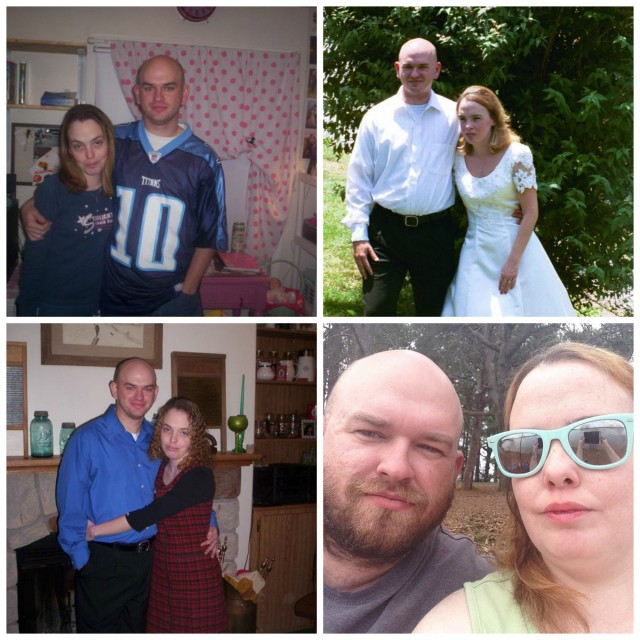 Wordless Wednesday: 8 Years Together Edition