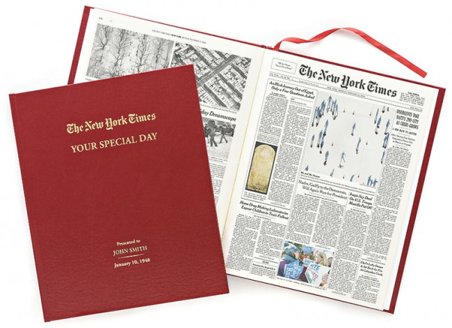 Holiday Gift Guide Review: NY Times Store Personalized Gifts #sponsored #ad #review