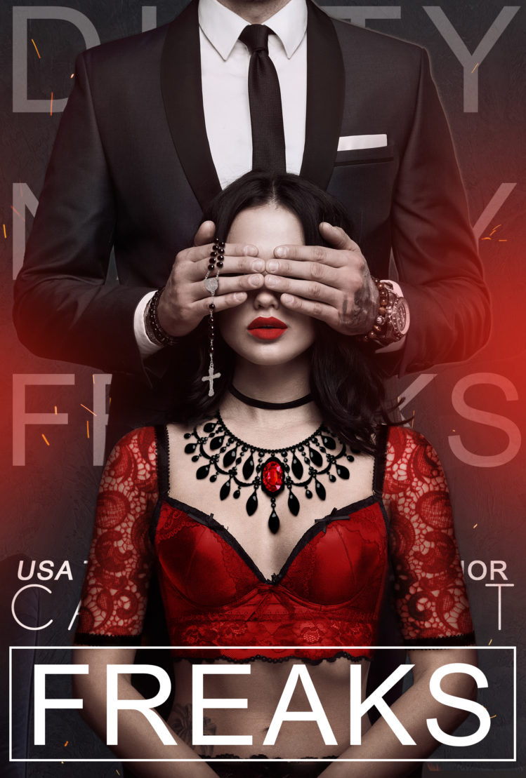 Cover Reveal: Freaks by Callie Hart (3rd installment in Dirty Nasty Freaks series) #calliehart #dirtynastyfreaks #coverreveal @callie_hart
