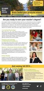 Delaware Valley College: Email Design