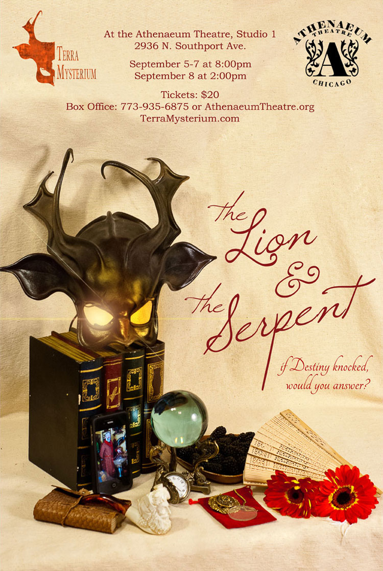 The Lion & the Serpent: Poster [photography and design]