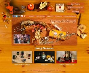 Terra Mysterium Website Design [photography and design]