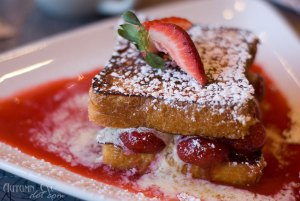 Over Easy Café: Strawberry Sublime French Toast