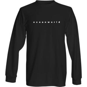 'Oceanworld' title - long sleeve - black