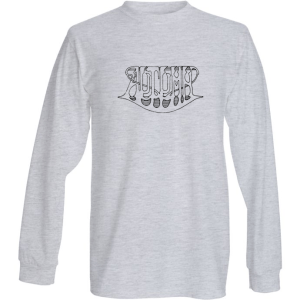 Full logo - long sleeve - grey