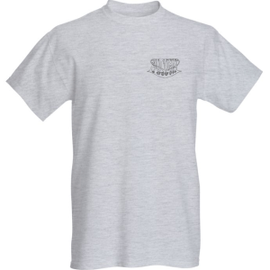 Breast logo - short sleeve - grey