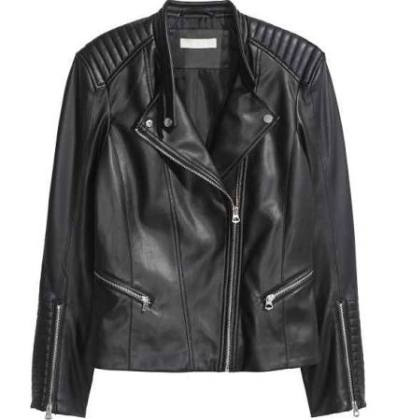 H&M Womens biker jacket, $49