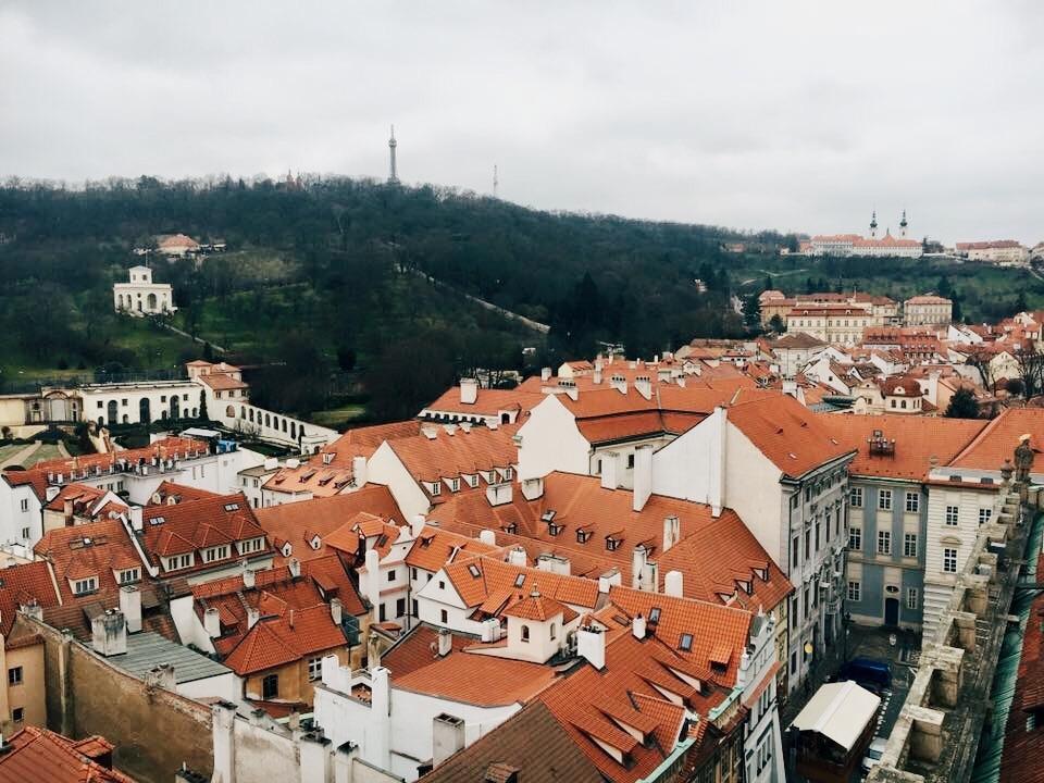 Petrin Hill in Prague
