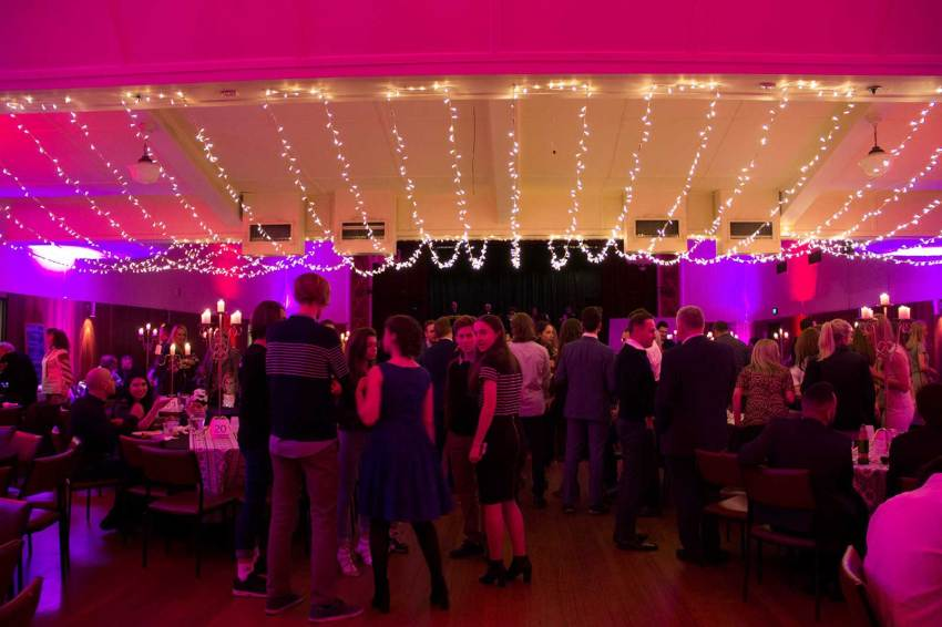 Hall hire for a variety of functions