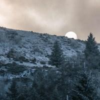 Première neige au Capucin