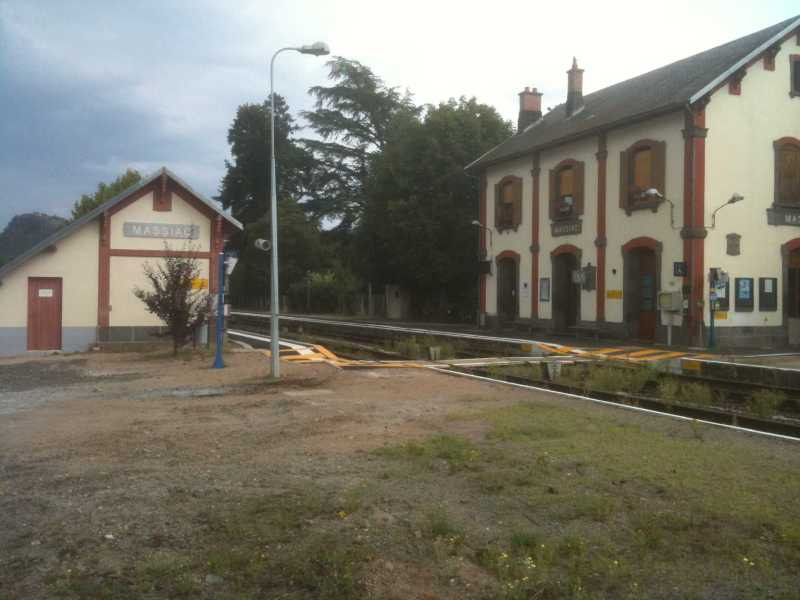 La Gare de MASSIAC