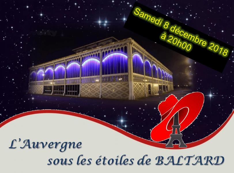 """""""L'AUVERGNE SOUS LES ETOILES DE BALTARD"""""""