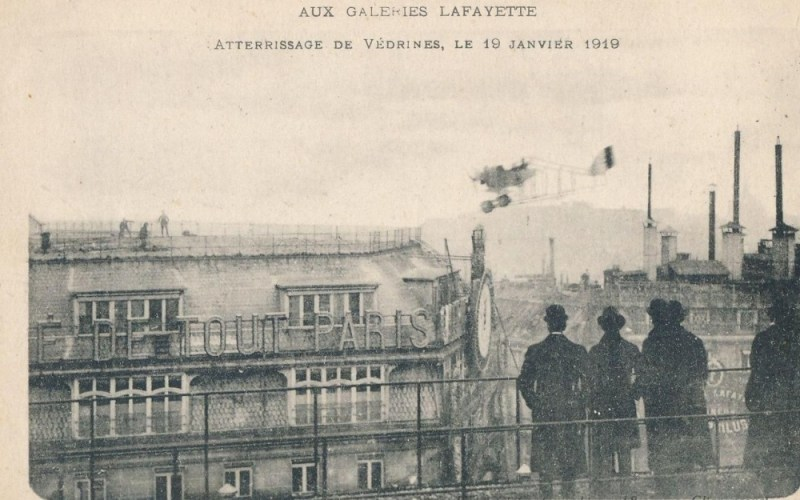 Attérissage de Védrines, le 19 janvier 1919