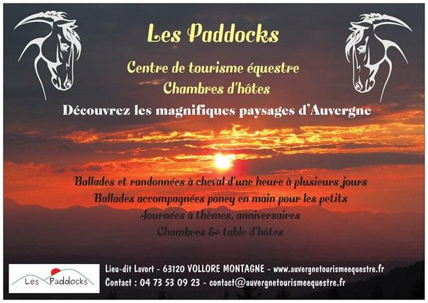 Bienvenue aux Paddocks