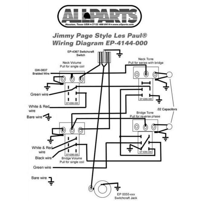 Gibson Les Paul 2017 Standard Wiring Diagram - Wiring Diagram