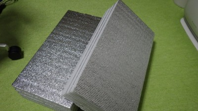 折り畳み式銀マット