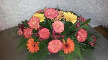 fleurs grand mère