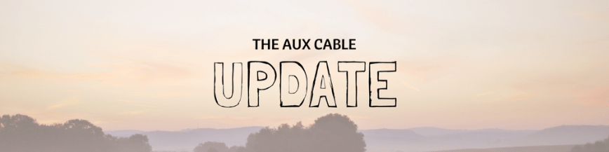 Aux Cable UPDATE!
