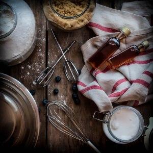 Beignes, tartes et gâteaux