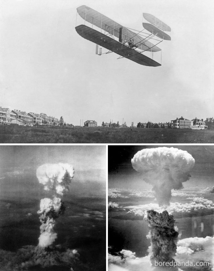 Orville Wright Was Still Alive When Hiroshima And Nagasaki Were Bombed (1945)